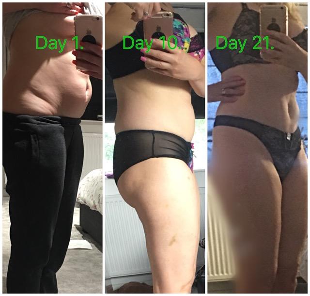 My 30 day weightloss diet day 21